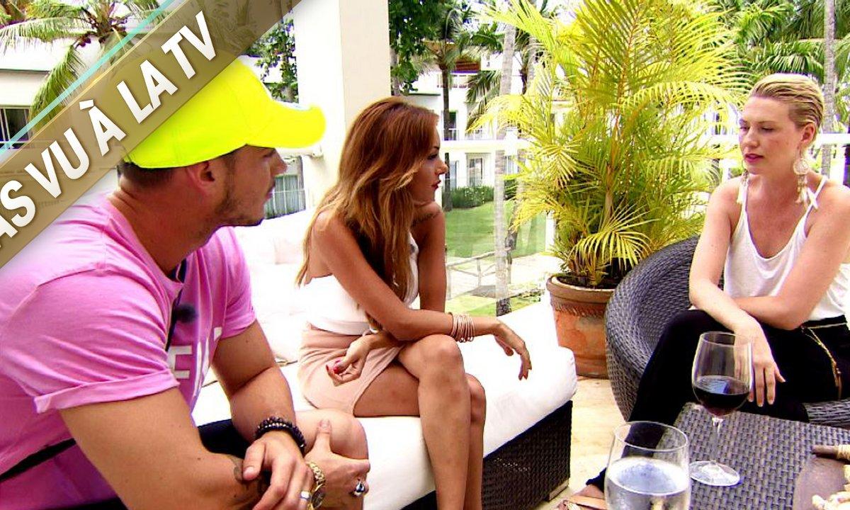 Lucie explique à Flo et Fidji les raisons de son choix