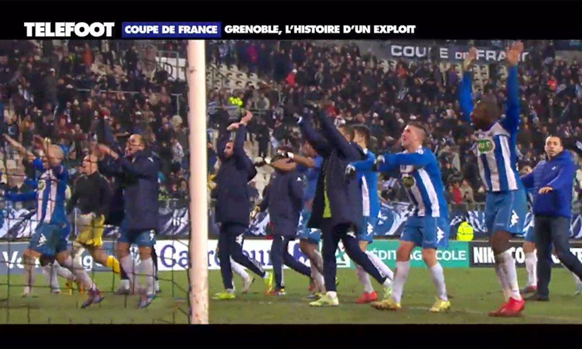 Coupe de France : Grenoble, l'histoire d'un exploit