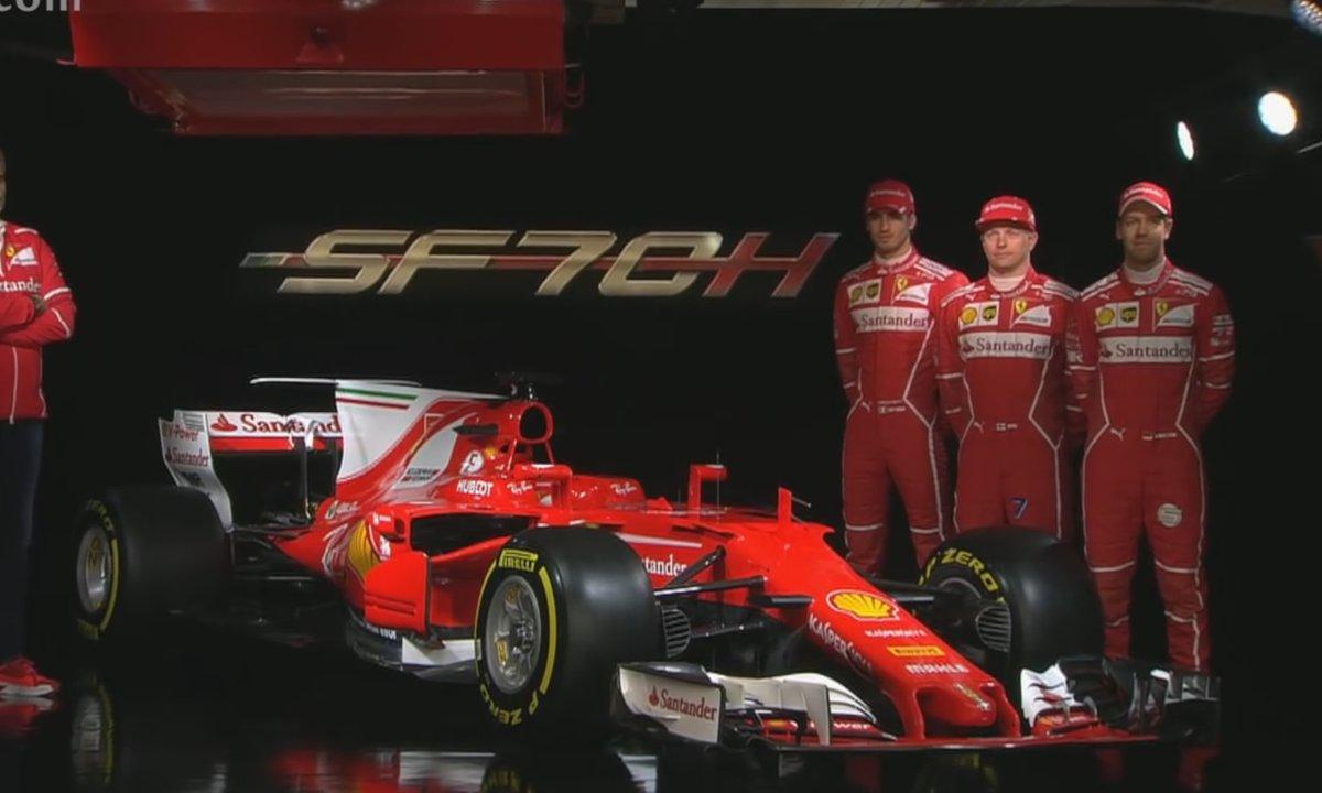 F1 2017 : Présentation officielle de la Ferrari SF70H