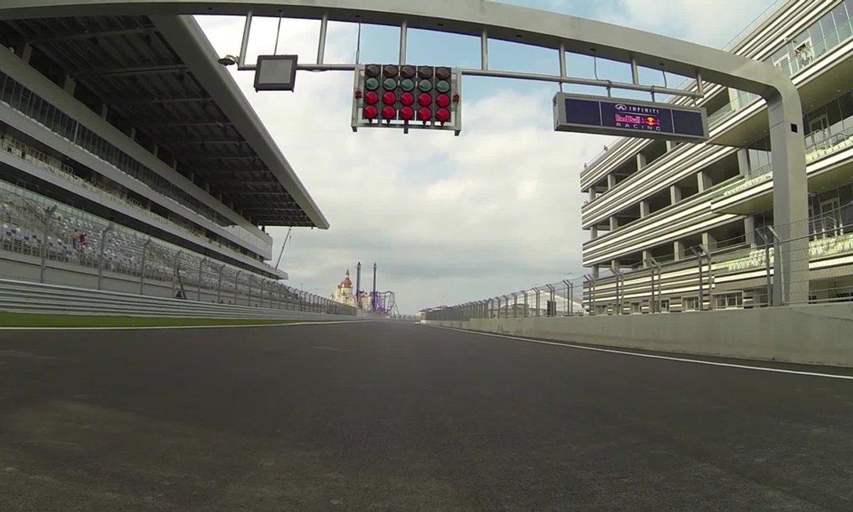 F1 : découvrez le circuit de Sotchi du GP de Russie avec Vettel