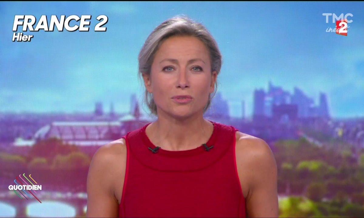 F2 : Anne-Sophie Lapix, le jour d'après