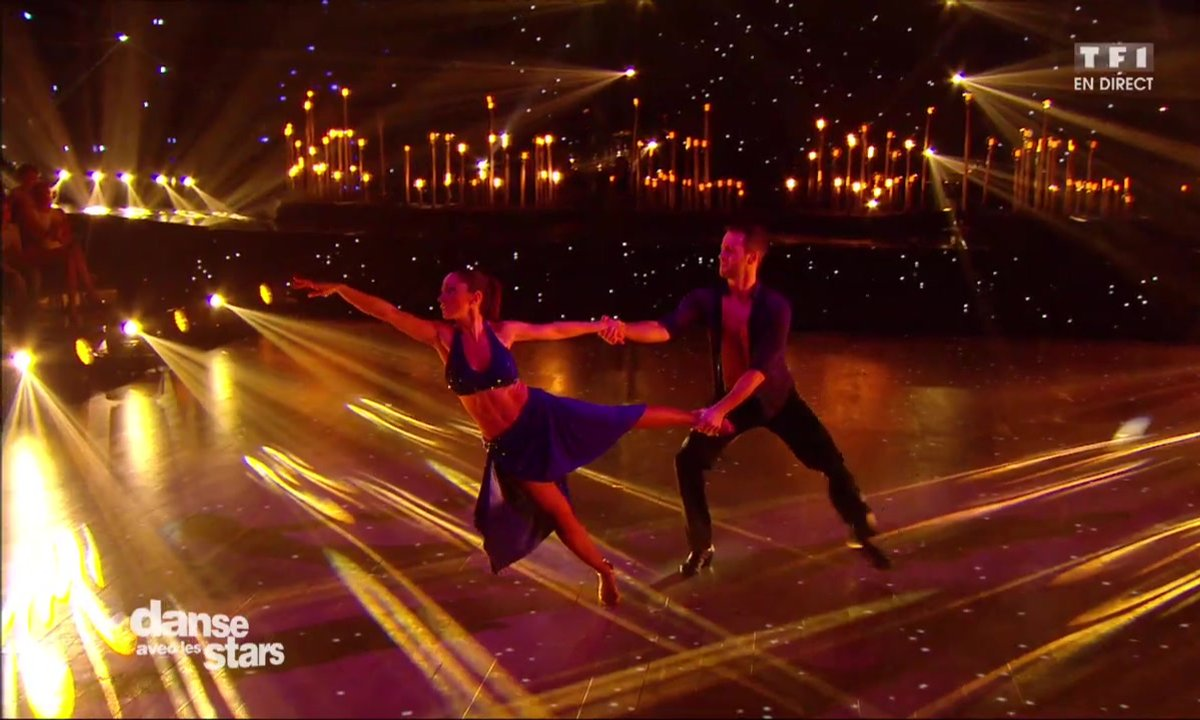 Une Rumba pour Fabienne Carat et Christian Millette sur « You are so beautiful » (Joe Cocker)