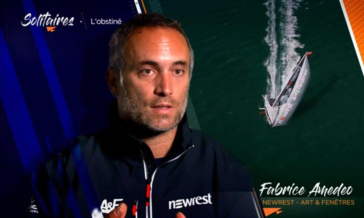 Fabrice Amedeo, un skipper engagé pour la protection des océans