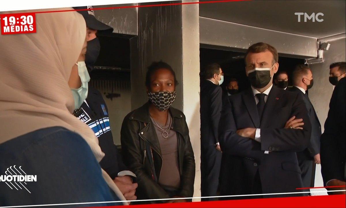 """Face à Emmanuel Macron, une femme dénonce le manque de mixité dans sa ville: """"Mon fils m'a demandé si le prénom Pierre existait vraiment"""""""