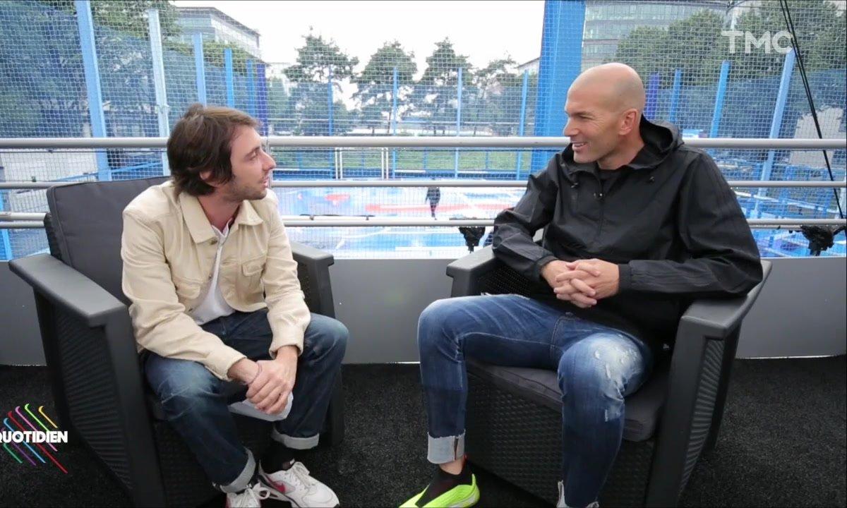 """Le face à face Zinédine Zidane - Étienne Carbonnier : """"Désolé pour Paris!"""""""