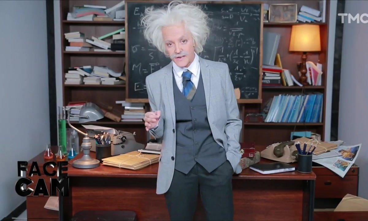 Face Cam : Camille Lellouche est Albert Einstein