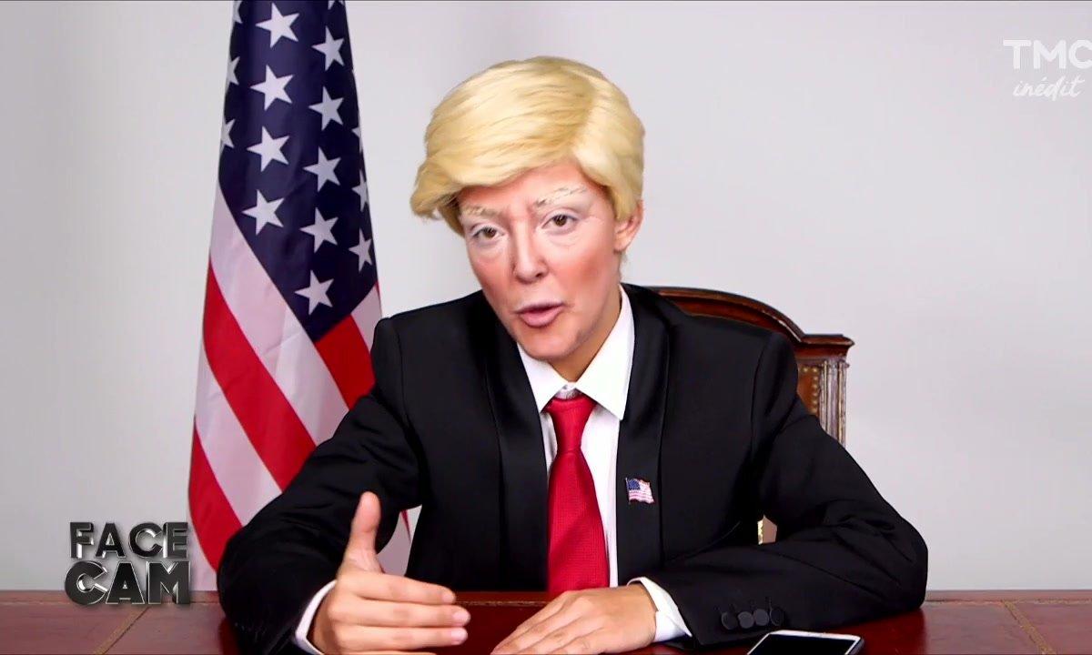 Face cam : Camille Lellouche dans la peau de Trump