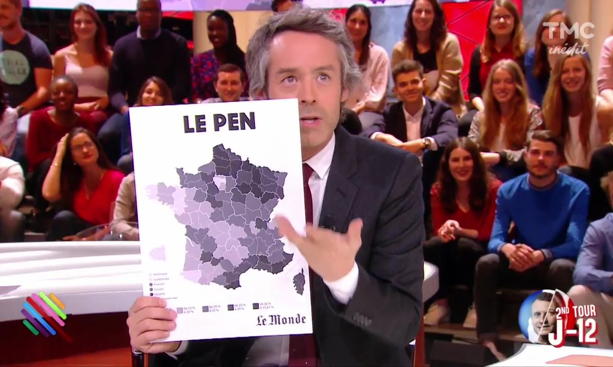 Le fait du jour : le casse-tête éditorial des cartes multicolores post-élection
