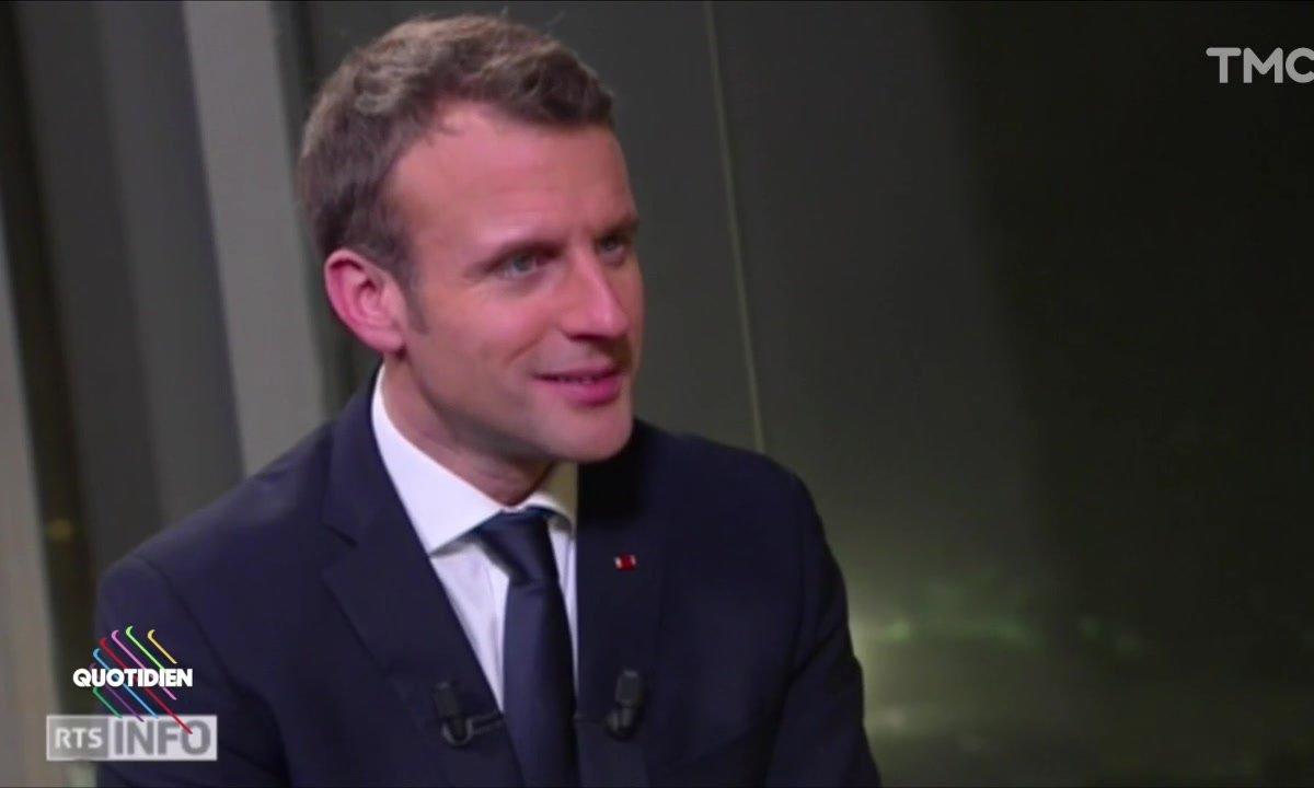 Le fait du jour : Emmanuel Macron fâche la Suisse