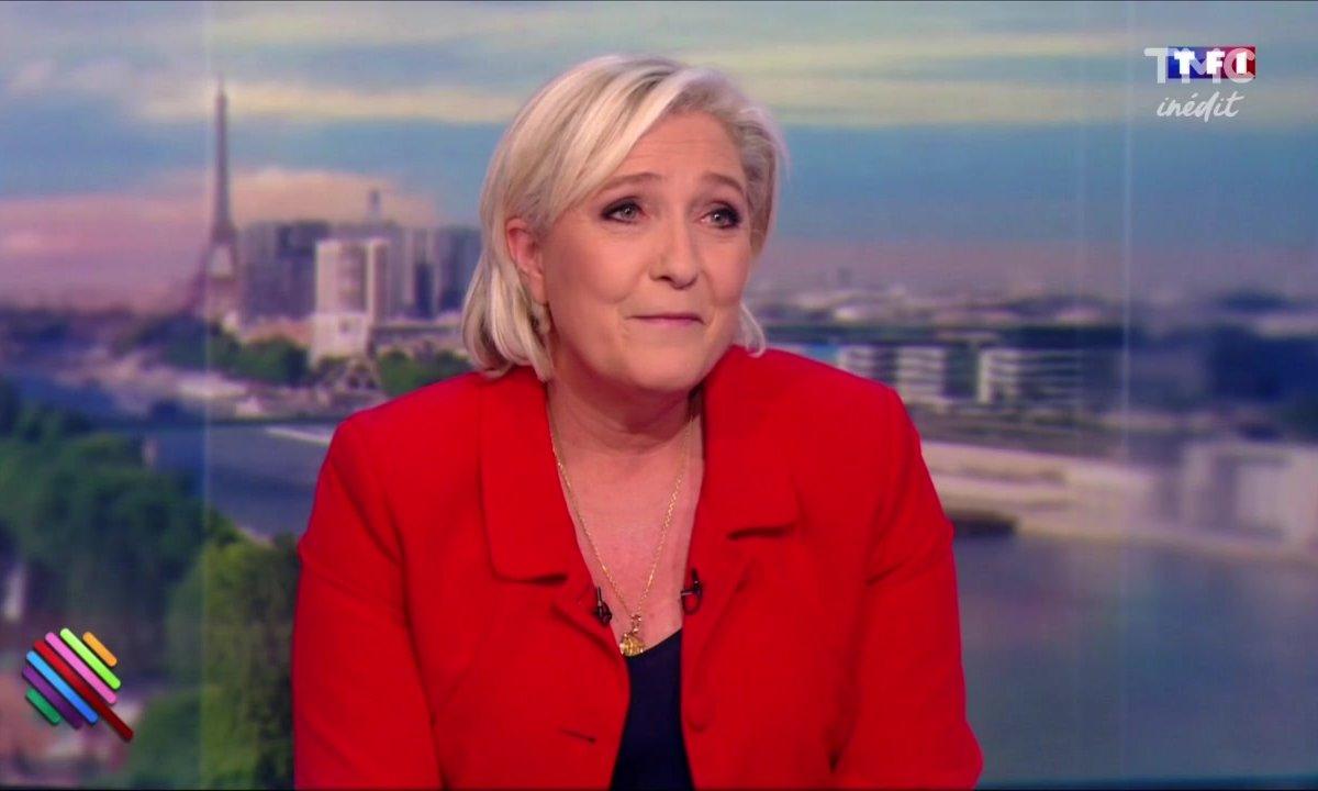 Le fait du jour : Le gros mea culpa de Marine Le Pen