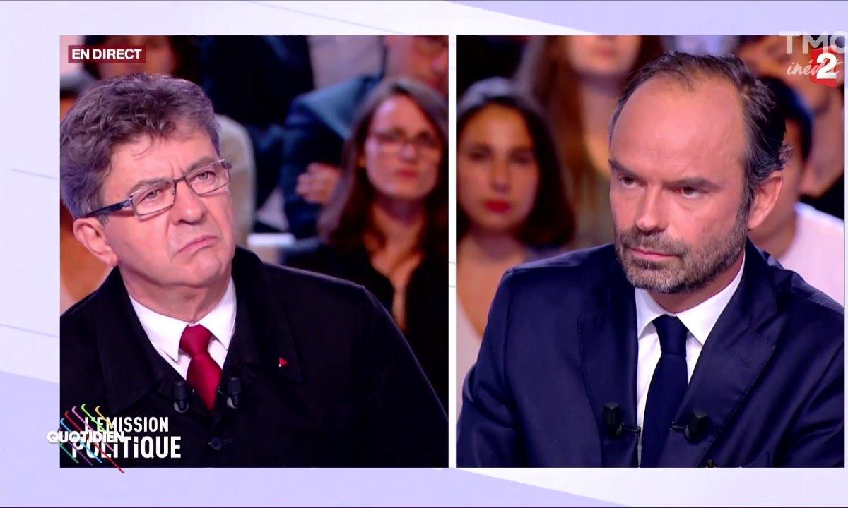 Fait du jour : Philippe/Mélenchon au pays des bisounours
