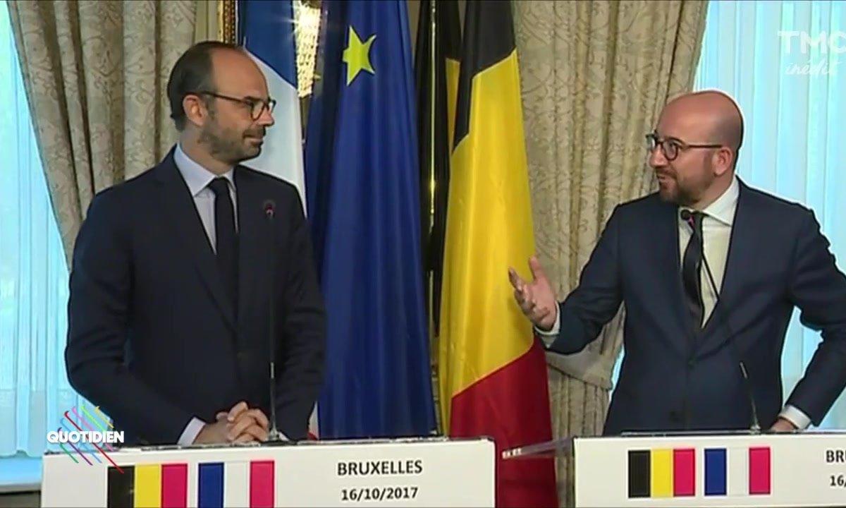 Fait du jour : Le Premier Ministre en visite à Bruxelles