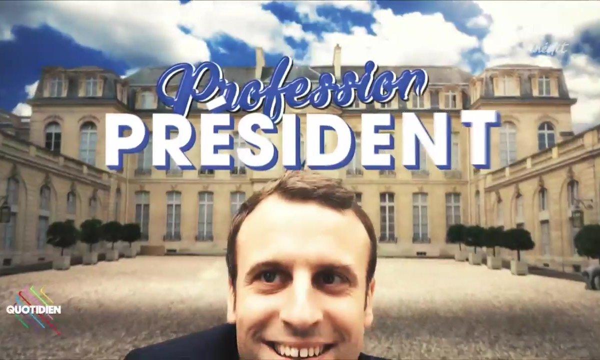 Fait du jour : La première visite d'Etat d'Emmanuel Macron