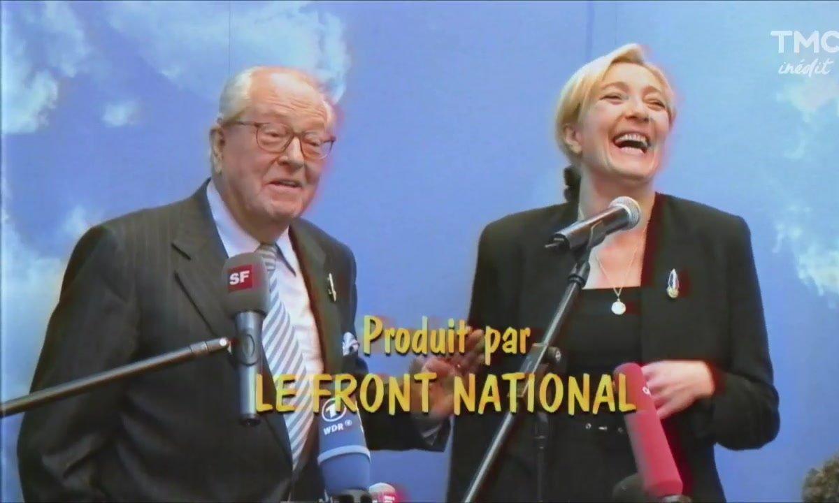 """Le fait du jour : quoi de neuf chez """"Notre Belle Famille"""" Le Pen ?"""