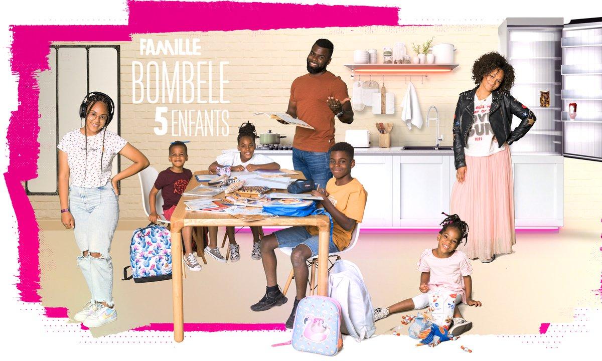 """Portrait de la famille Bombele : """"7 à la maison"""""""