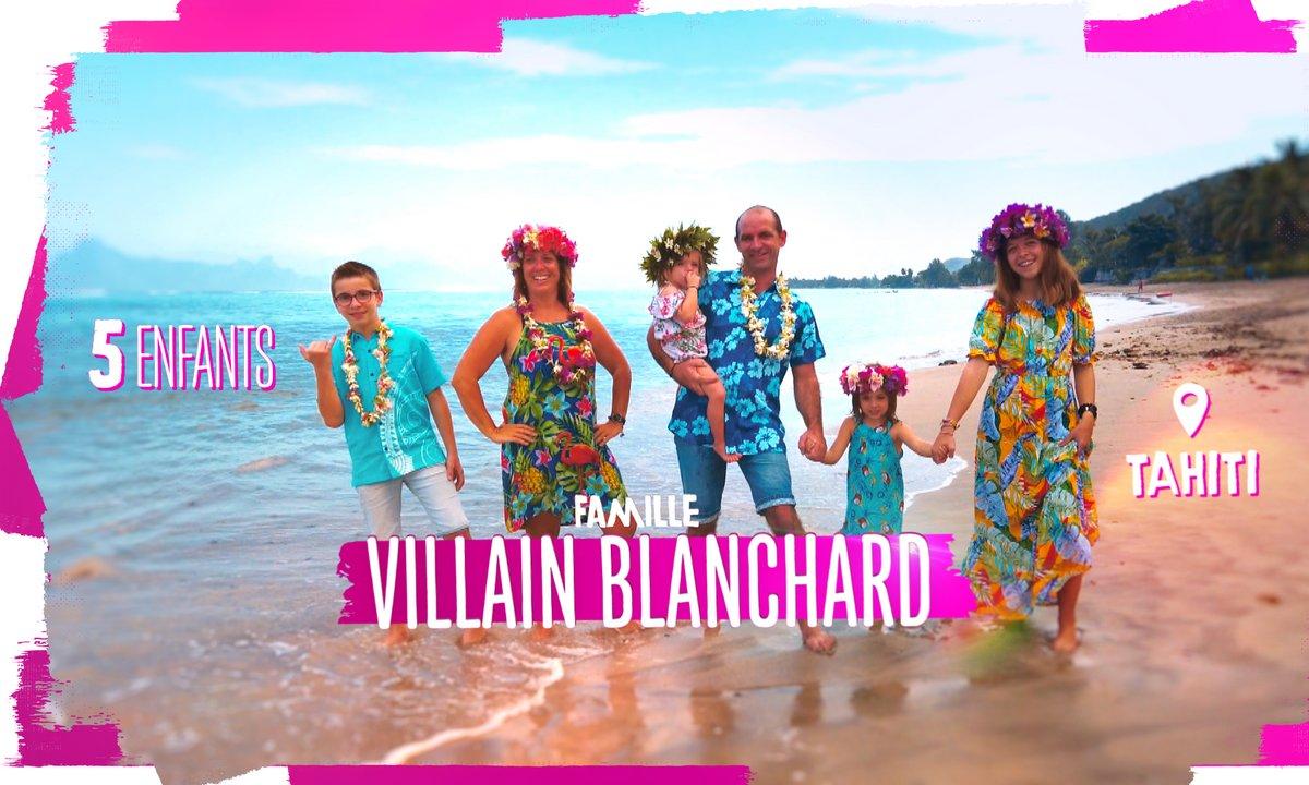 """Portrait de la famille VILLAIN BLANCHARD : """"Notre vie à 6 au paradis"""""""