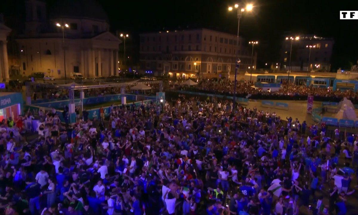 Italie - Espagne : les réactions des fans italiens durant la demi-finale