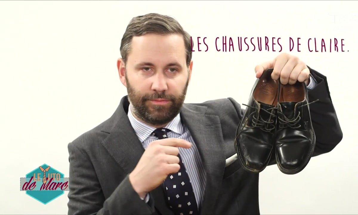 Fashion Hotline de Marc Beaugé : Le Tuto chaussures en cuir « crades »