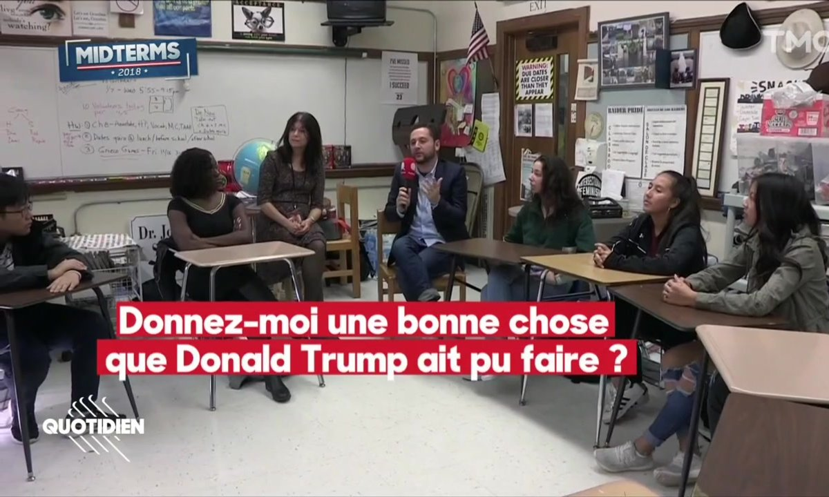 Fast & Chaouch: Donald Trump vus par des lycéens