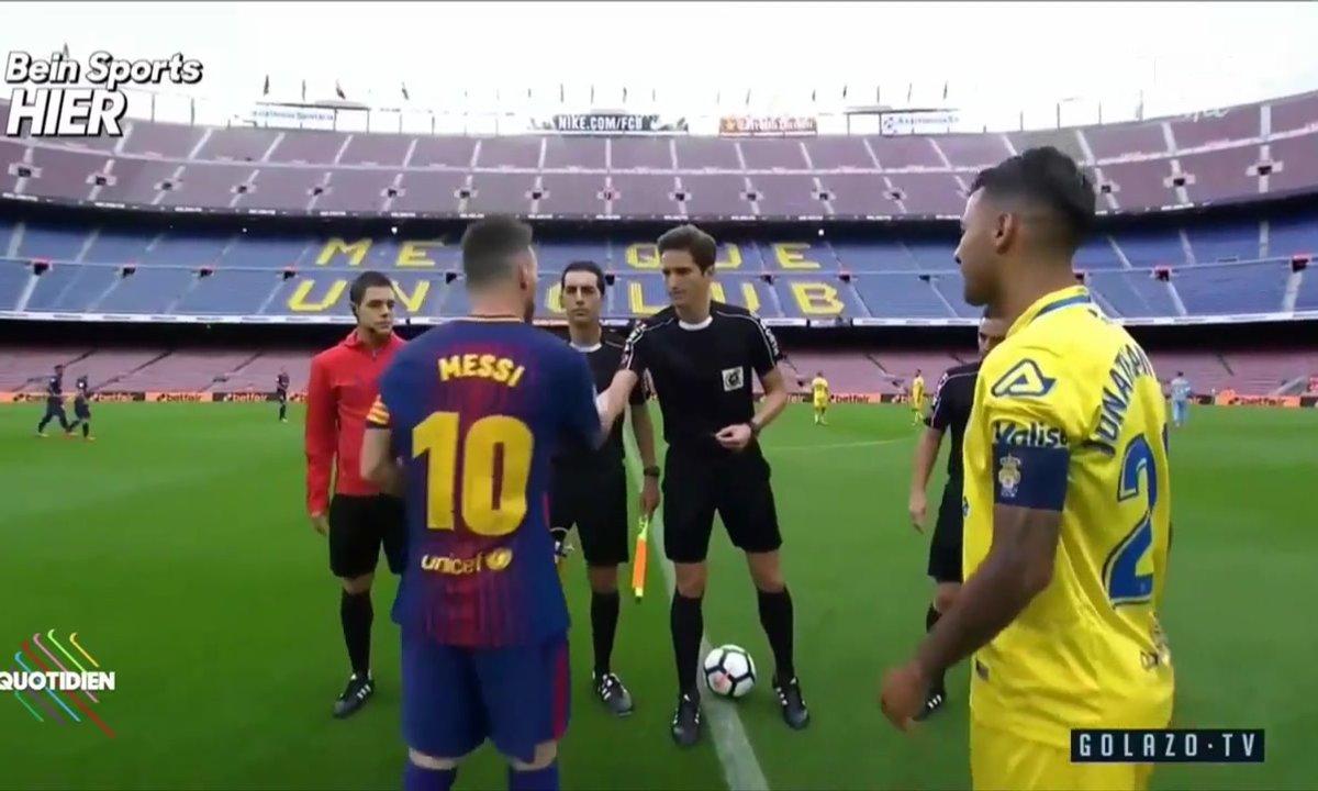 FC Barcelone joue à huis clos pour protester