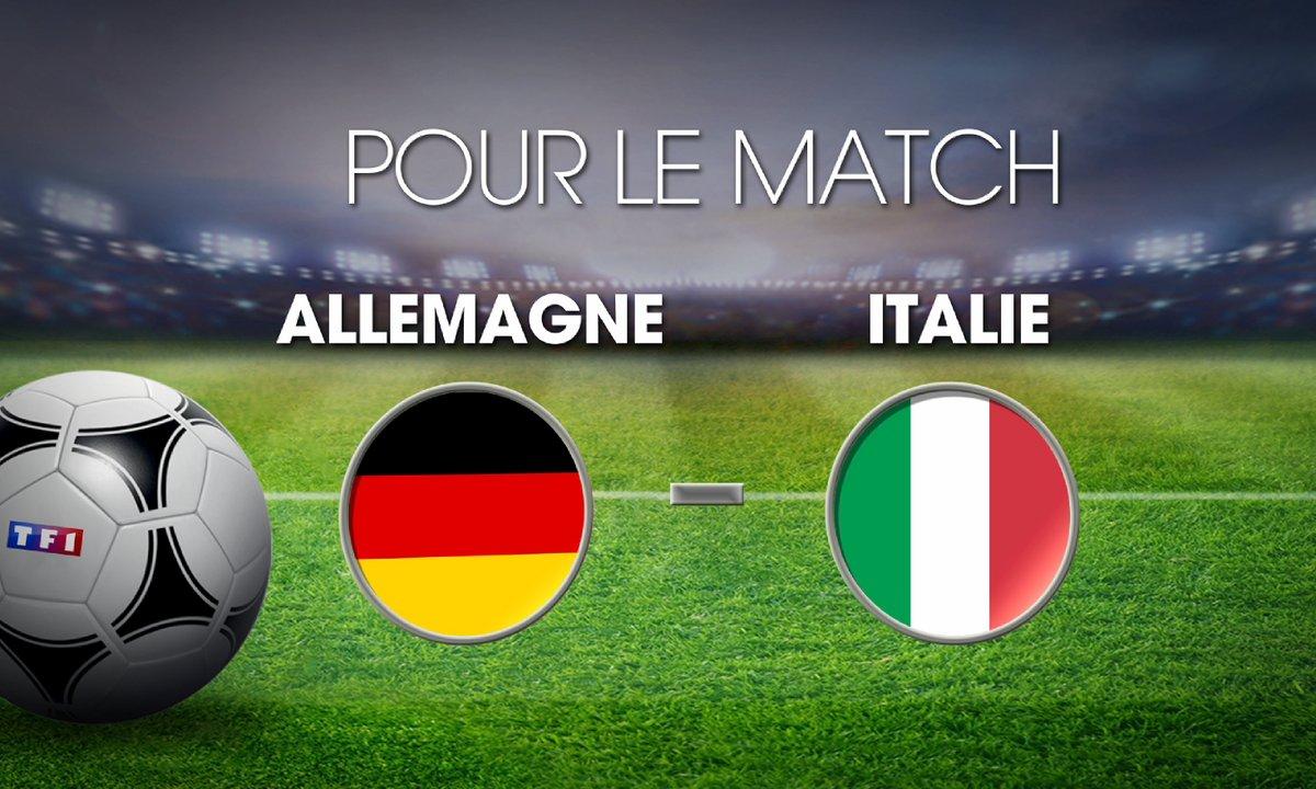 UPDATE MI-TEMPS Allemagne - Italie : Découvrez les cotes du match