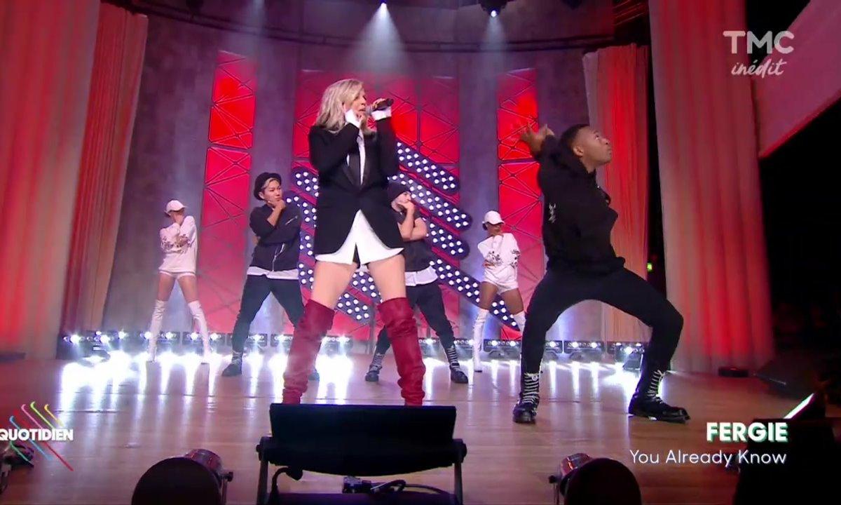 """Fergie : """"You Already Know"""" en live dans Quotidien"""