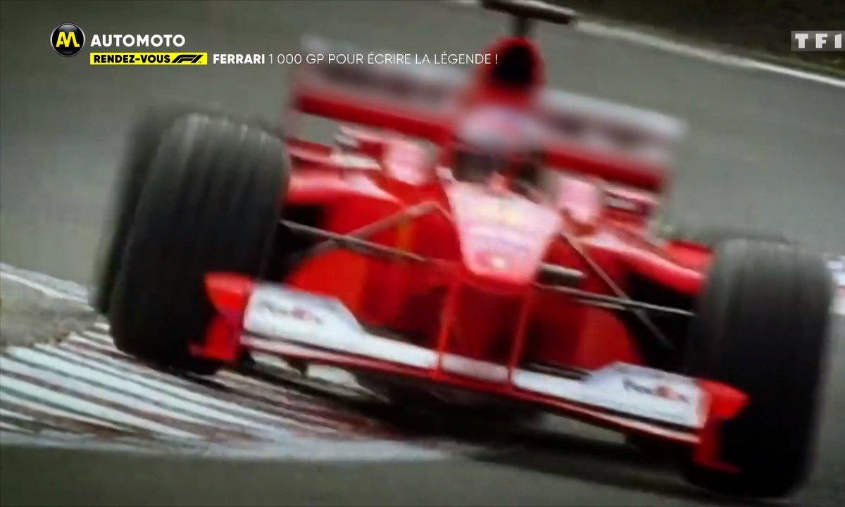 RDV F1 : Ferrari, 1000 GP pour écrire la légende !!