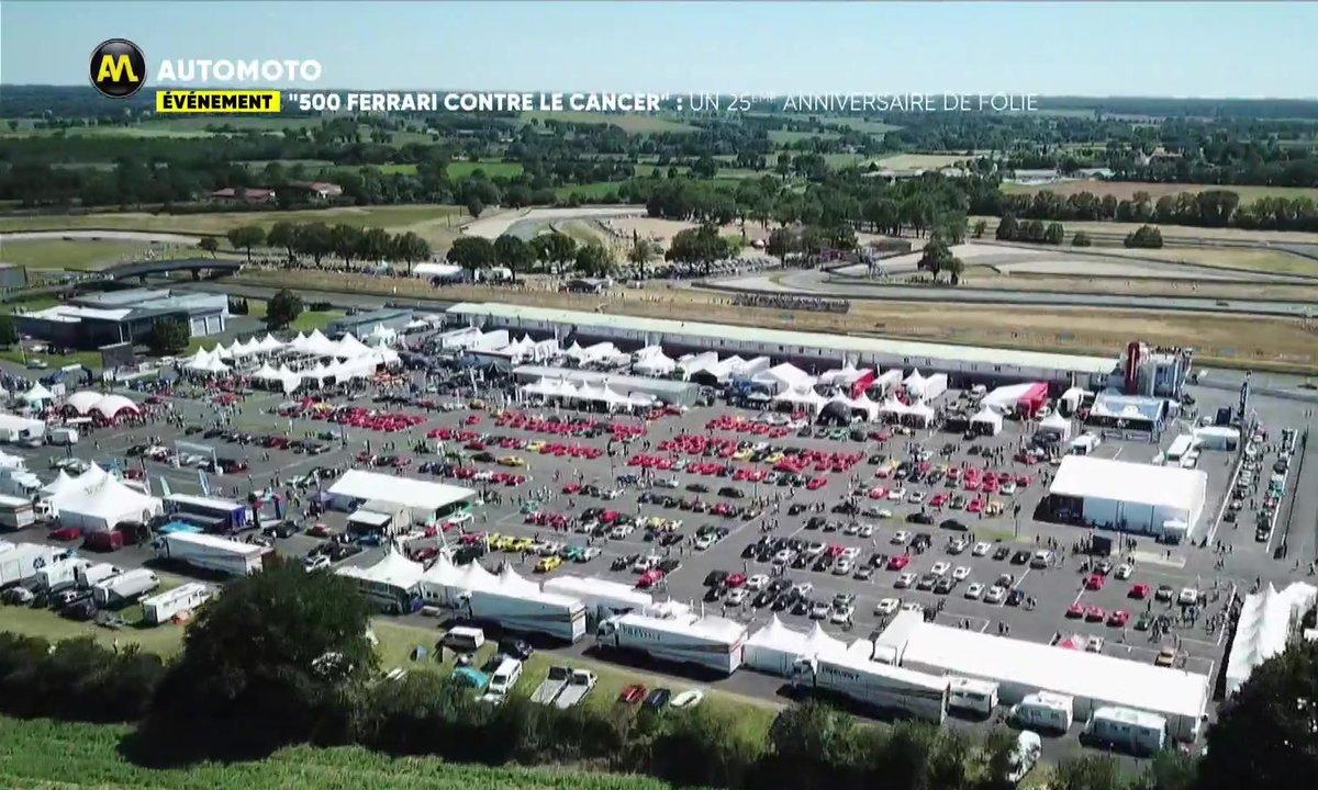 """""""500 Ferrari contre le cancer"""" : Un 25ème anniversaire de folie"""