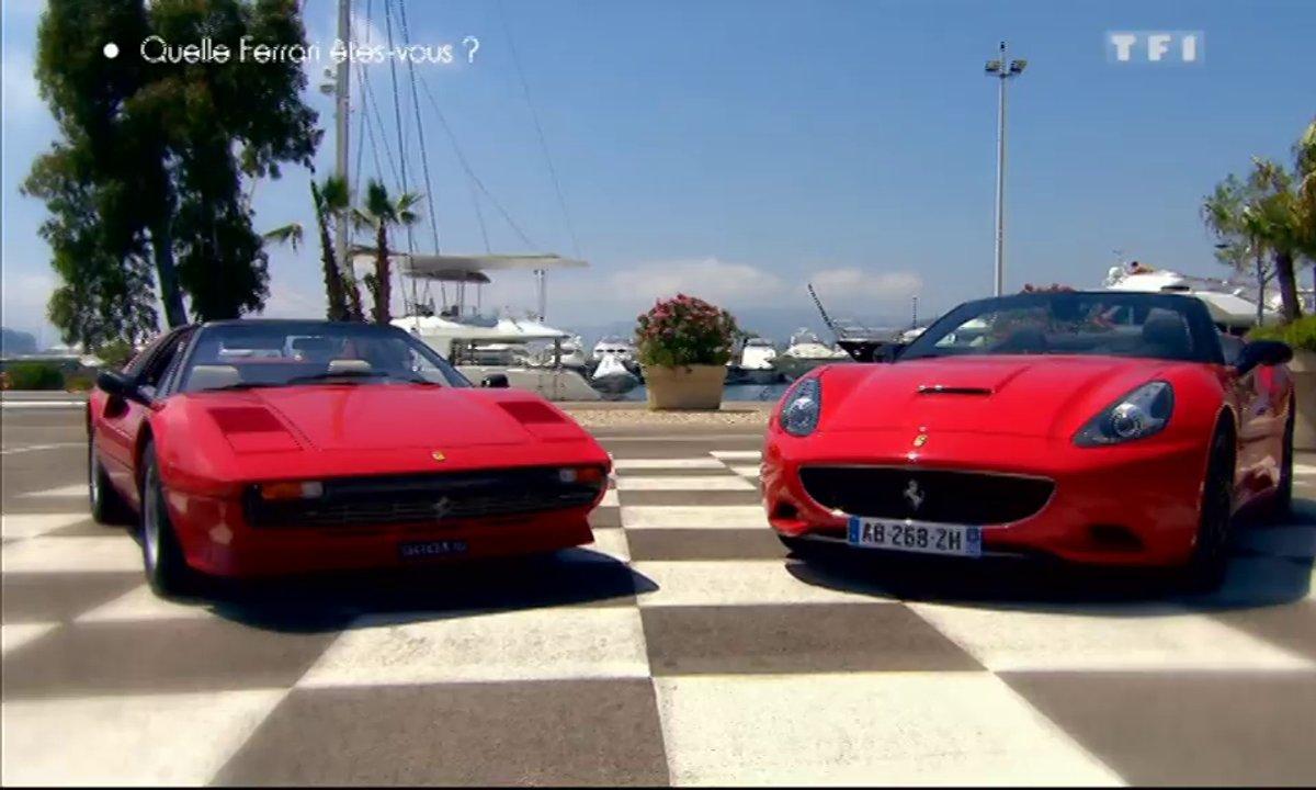 Rêve : Ferrari 308 GTS et California, deux époques