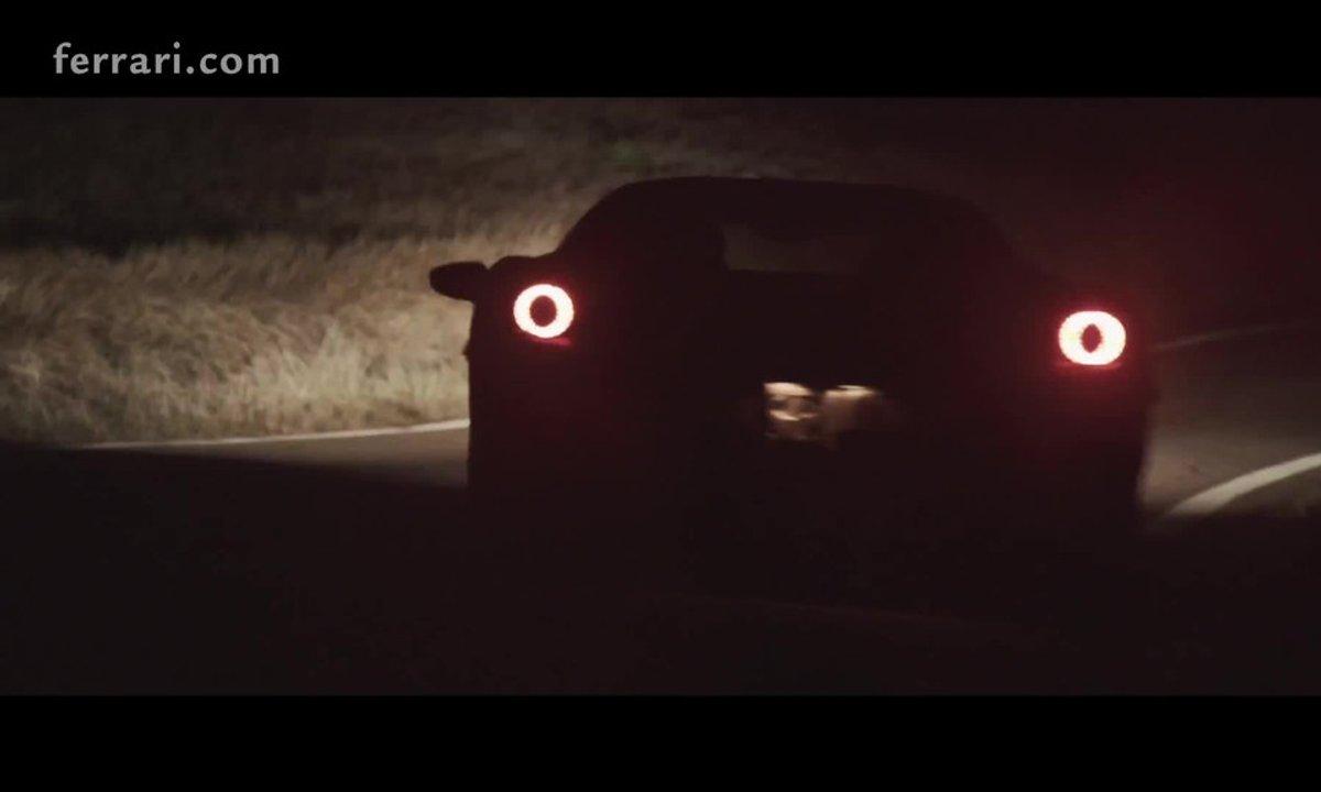 Ferrari 488 GTB 2015 : teaser officiel