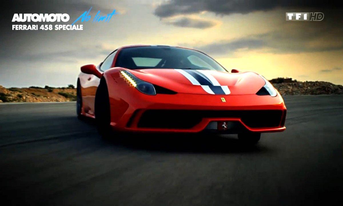 No Limit : attention, Ferrari 458 Spéciale en liberté !
