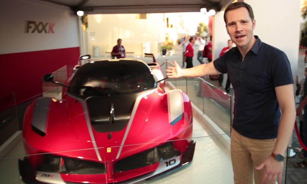 Exclusivité Automoto : La Ferrari FXX K à Abu Dhabi
