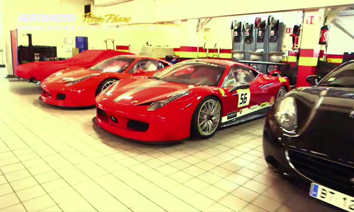Exclu : Un concerto de Ferrari dans Automoto !