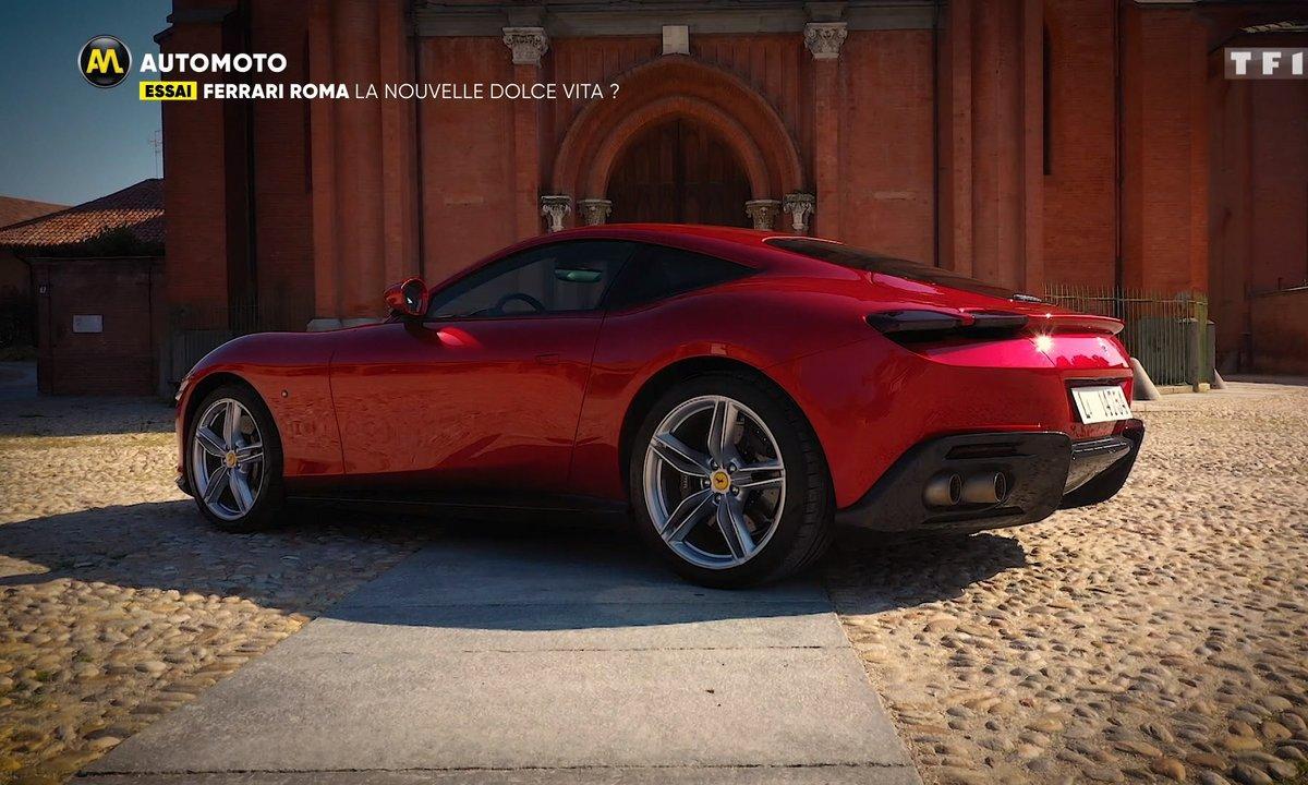 Essai - Ferrari Roma : la nouvelle Dolce Vita ?