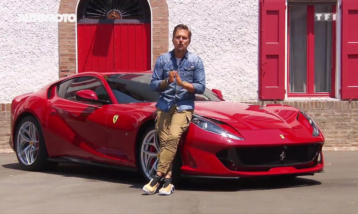 Essai : La sublime Ferrari 812 Superfast