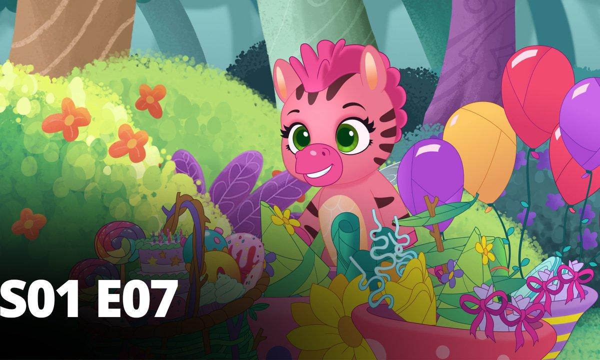 Hatchimals - S01 E07 - La fête de Fabula Forest