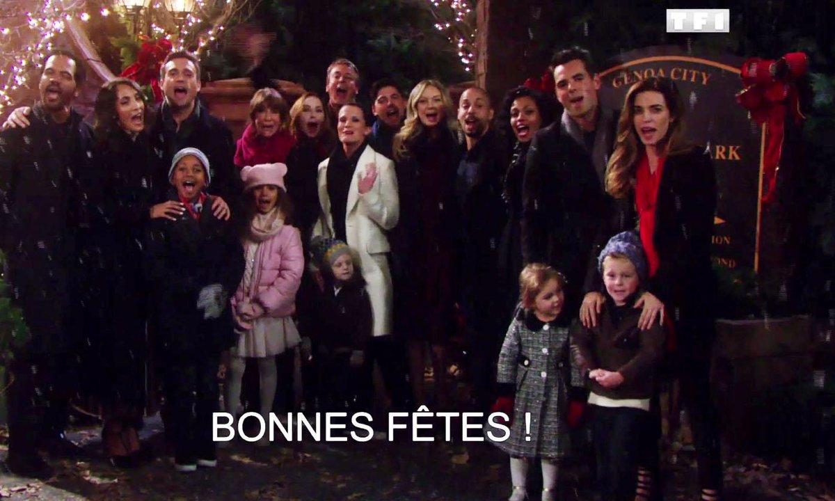 Les acteurs vous souhaitent bonnes fêtes… En français !