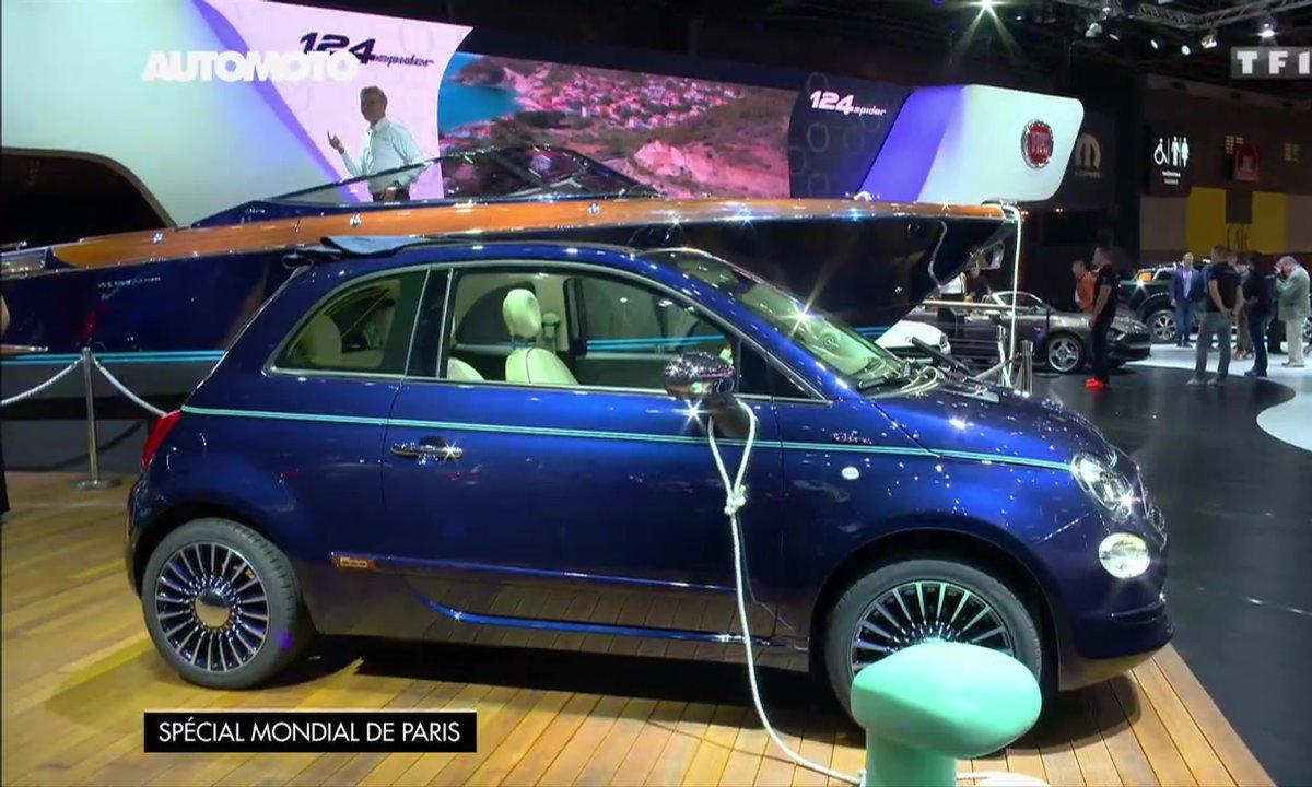 La Fiat 500 Riva nous mène en bateau au Mondial de l'Auto 2016