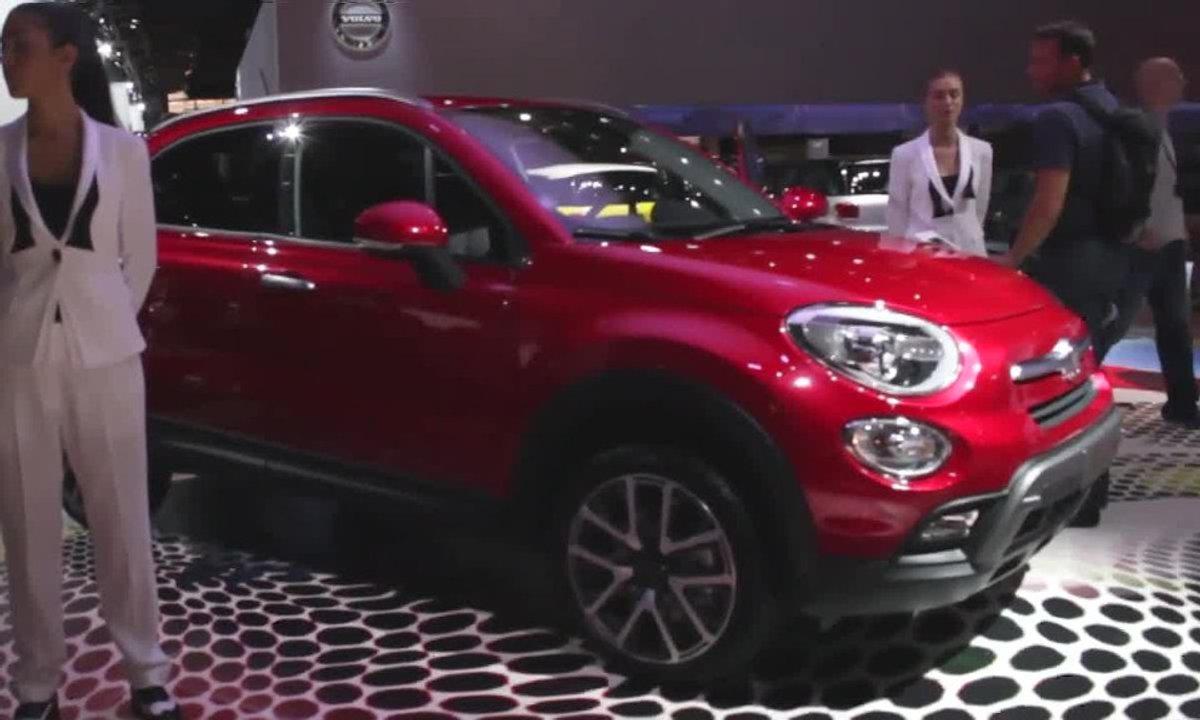 Fiat 500X, l'esprit de la citadine, la virilité en plus - Mondial de l'Automobile 2014
