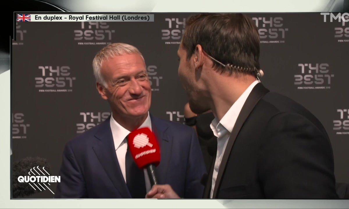 """FIFA Awards - Didiers Deschamps : """"Avec Zidane, on ne va pas se battre"""""""