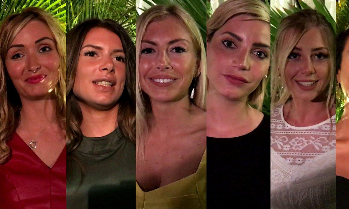 TOP Départ - Yamina, Stéphanie, Nadège, Fanny, Maeva et Beverly sont prêtes pour l'aventure la Villa 3
