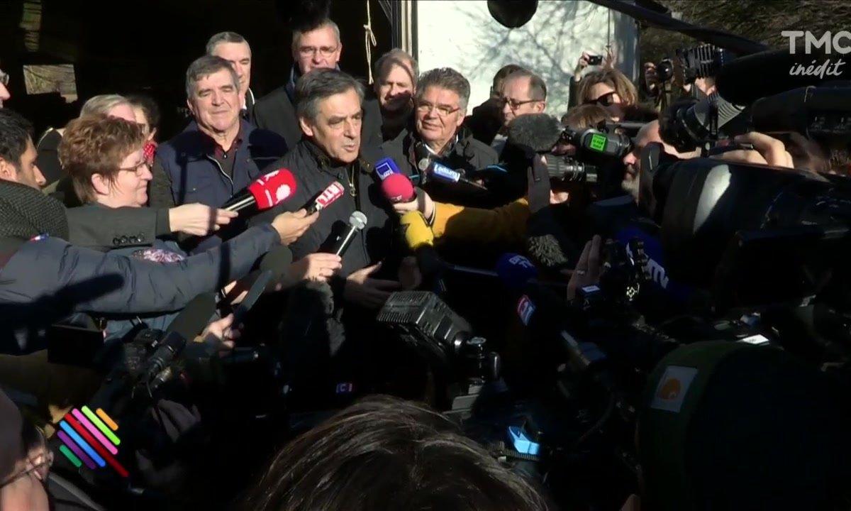 Fillon et le journalistes : opération séduction !