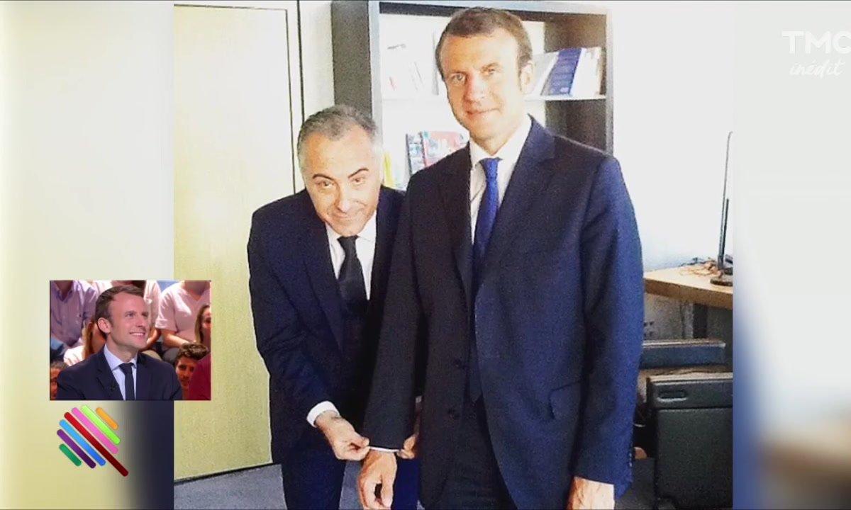 Fillon et Macron se font tailler un costume par Marc Beaugé