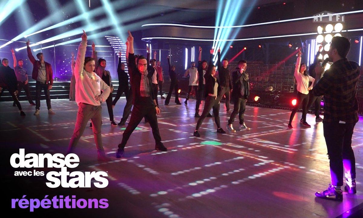 Dernières répétitions de tous les danseurs : Les retrouvailles avant la finale
