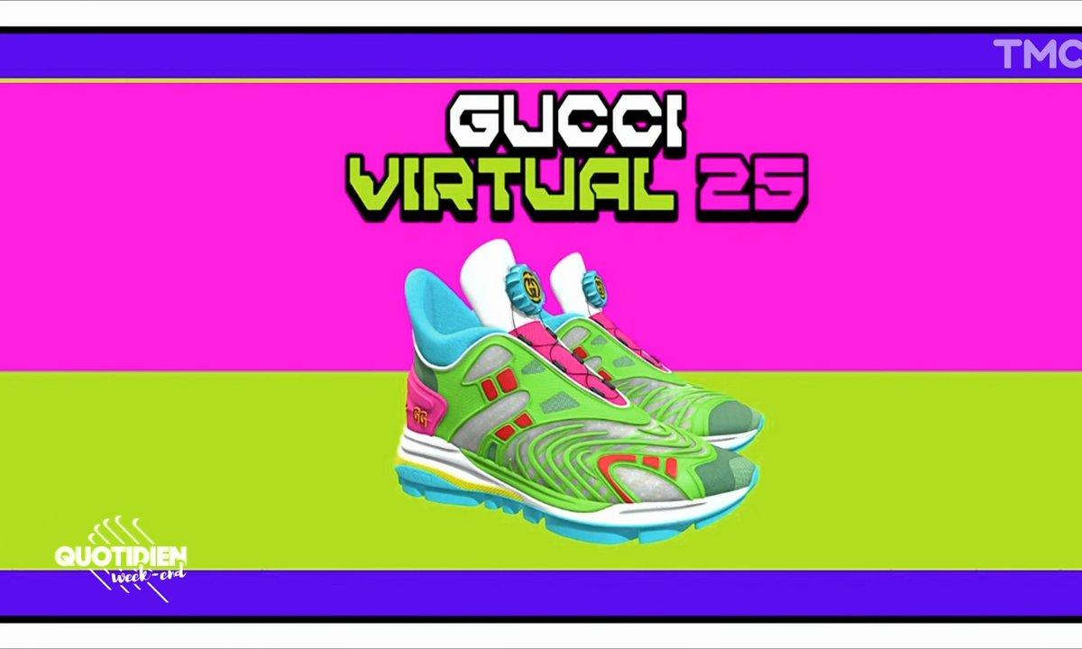 Flash Mode : Gucci invente la basket digitale