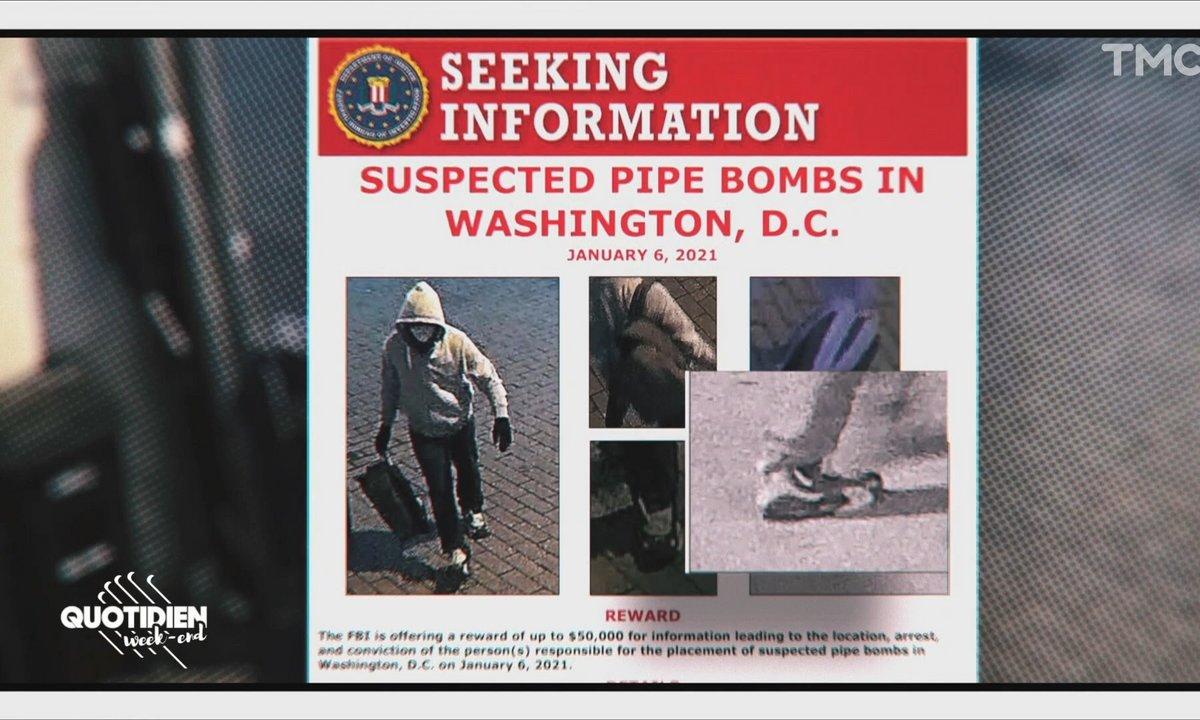 Flash Mode: Internet se mobilise pour retrouver le modèle des chaussures du poseur de bombe du Capitole