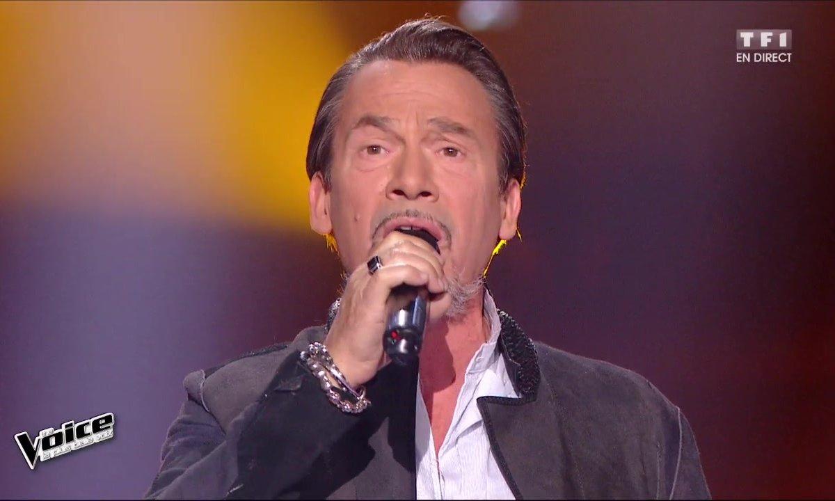 Florent Pagny interpréte en direct son titre « Encore » (Saison 05)