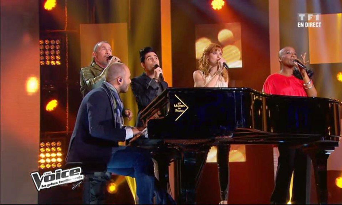 Florent Pagny & Lise Darly & Alban Bartoli &  Dominique Magloire - La Javanaise (Medley) (saison 01)