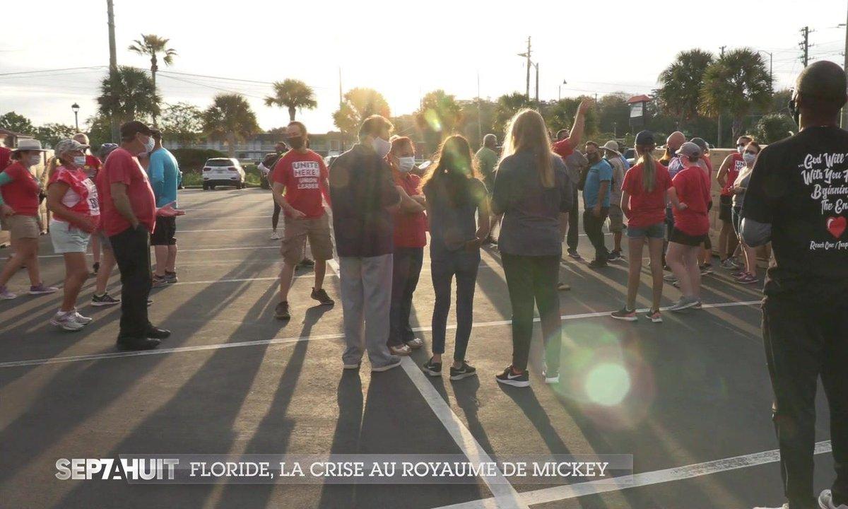 Floride : le royaume de Mickey affecté par la crise du Covid-19