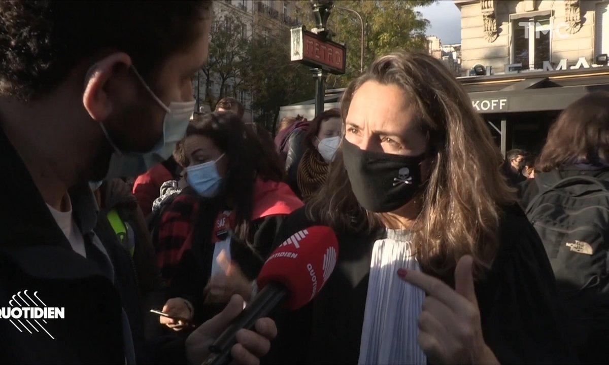 Floutage des policiers: avocats et journalistes s'opposent à la loi